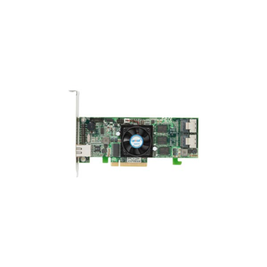 Areca ARC-1222 (IOP348@800) SAS-RAID (0/1/5/6/10/50/60) 2×8087, 256MB, PCI-E8, LP
