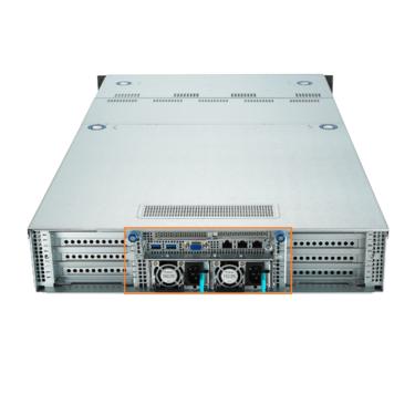 ASUS 1600W 80+ PLATINUM RPSU//ACBEL/R1CA2162B-P17A (185MM) - 90SKP000-M41AN0