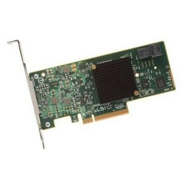 Broadcom LSI MegaRAID SAS 9341-4I 4x 12Gb/s SAS (1x int. SFF-8643), PCIe 3.0 x8 - 05-26105-00
