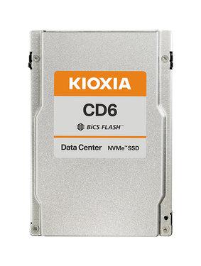 "Kioxia CD6 1.92TB NVMePCIe4x4 2.5""15mm SIE 1DWPD - KCD6XLUL1T92"