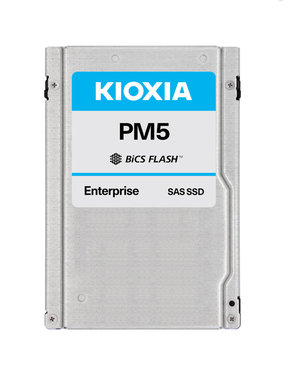 """Kioxia PM5 3.2TB SAS 12Gb/s 2.5"""" 15mm BiCS3 eTLC 3DWPD - KPM51VUG3T20"""