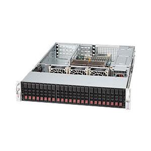 SC216A-R900U 2U UIO 24SFF(6xSFF-8087),noCD,UIO,rPS 900W,black