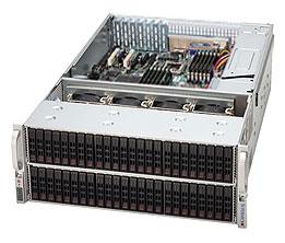 SC417E16-R1400LPB 4U eATX13 24+24+24 sATA/SAS2 SFF (SAS2 exp.), rPS 1400W (80+ GOLD), LP, černý