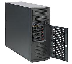 "SC733TQ-500 miditower eATX,4sATA/SAS,2×5,25"",500W(<30dB,80+ BRONZE,EUP)černé"