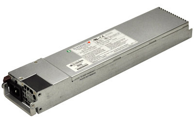 SUPERMICRO 1U 500W Redundant Single Output Power Supply W/PMbus, Platinum level