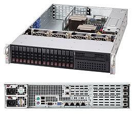"SUPERMICRO 2U chassis 16x 2,5"" HS SAS/SATA (4x SFF 8087), 1x 5,25"", 2x920W (80PLUS Platinum), WB"