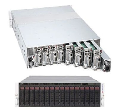 """SUPERMICRO 3U MicroCloud server 8x NOD (LGA2011-3, iC6012, 4x DDR4 ECC reg, 2x SATA3) 2x HS 3,5"""" k NOD, 2x1620W, IPM"""