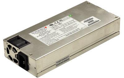 Supermicro 480W, 1U - PWS-441P-1H
