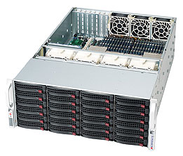 Supermicro 4U case CSE-848A-R1800B black