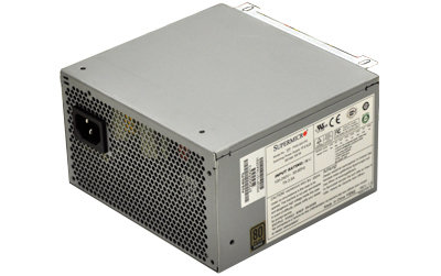 Supermicro 500W, Mid-Tower - PWS-502-PQ