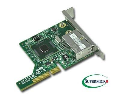 Supermicro AOC-PG-I2+, (2GbE,miniPCI-E8-LP,Intel82576,iSCSI boot,jumbo fram,VMDq)