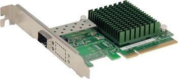 Supermicro AOC-STGN-I1S, Single SFP+ 10Gb/s, PCI-e 8x, Gen 2 (5GT/s) Card, LP