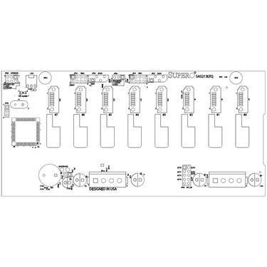 Supermicro BPN-SAS-213LTQ