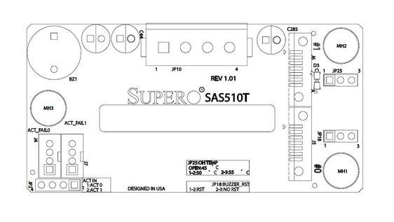 Supermicro BPN-SAS-510T