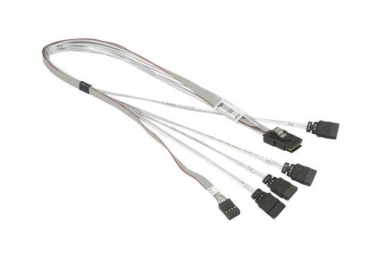 Supermicro MiniSAS (Host) to 4x SATA (Target) 51cm - CBL-0097L-03