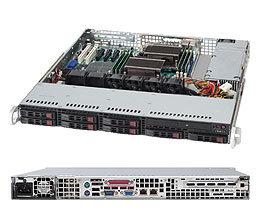 "Supermicro CSE-113MTQ-563CB, 1U, 8x 2,5"" SATA/SAS, 560W, černý"