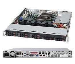 Supermicro CSE-113TQ-563CB, 1U, eATX13, 8SFF, Slim CD,560W, černé