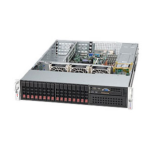 "Supermicro CSE-213A-R900UB, 2U, UIO 16SFF, 5,25"", slimCD, UIO, 900W, černá"