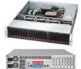 Supermicro CSE-216E2-R900LPB, 2U, eATX13 24SFF, noCD, LP, 900W, černé