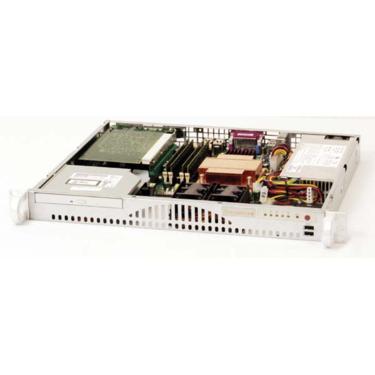 Supermicro CSE-512F-280, mini1U ATX, HDD, 280W(24p), slimCD, béžový