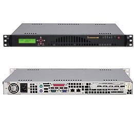 Supermicro CSE-512L-260-LCD
