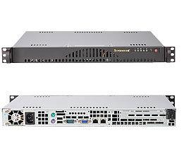 Supermicro CSE-512L-260, mini1U, ATX, 2HDD, 260W(24+4p), noCD, béžové