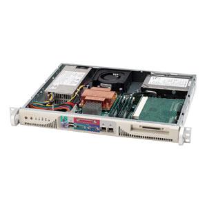 "Supermicro CSE-513L-410 mini1U ATX, 2sATA 2,5"", 410W 48V DC(24p)"