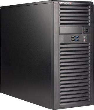 "Supermicro CSE-732D4-865B, mid-tower, 4x 3,5"" SATA/SAS, 2x 5,25"", 865W, black"