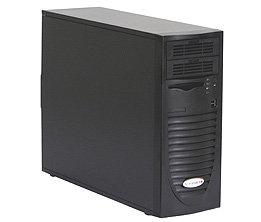 "Supermicro CSE-733I-500B, mid-tower, 4x 3,5"" SATA/SAS, 2x 5,25"", 500W, black"