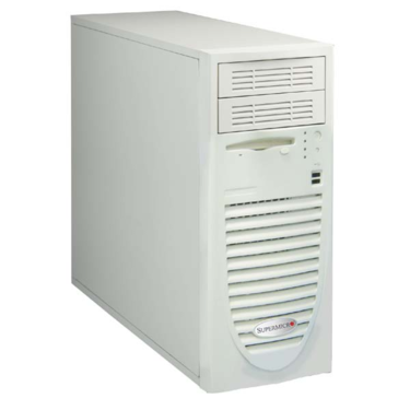 "Supermicro CSE-733i-645, miditower eATX, 4HDD, 2x5,25"", 645W, béžová"
