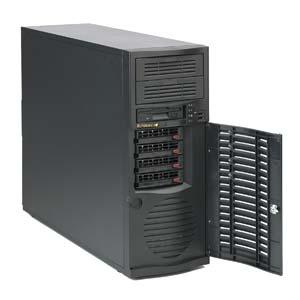 Supermicro CSE-733TQ-665B, MidiTower, 665W 4xSAS/SATA HotSwap,Super Quiet, black
