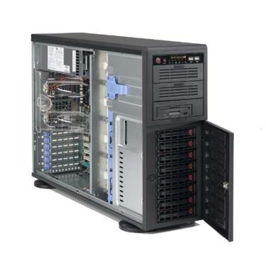 Supermicro CSE-743TQ-865-SQ, 4U/tower, eATX, 8sATA/SAS, 865W, černé
