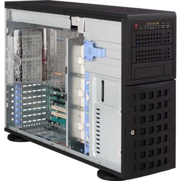 "Supermicro CSE-745TQ-800, 4U/tower, 8sATA/SAS, 3x5,25"", 800W, černé"