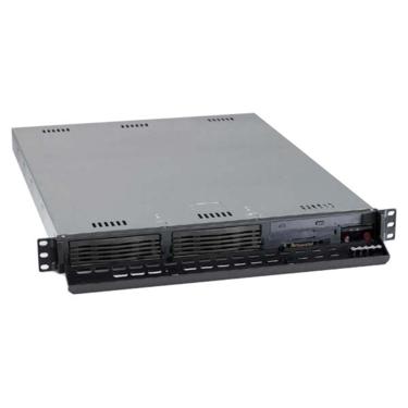 Supermicro CSE-811I-410 1U ATX, 2HDD, slimCD,FD, 410W 48V DC(24p), černé