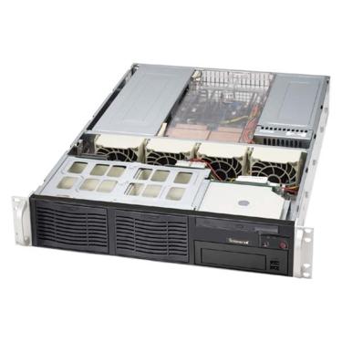 Supermicro CSE-823i-R500RCB, 2U eATX, 6HDD, RC, 500W, černé