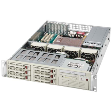 Supermicro CSE-823S-R500LP 2U eATX, 6SCSI, LP, rPS 500W
