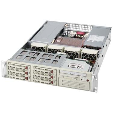 Supermicro CSE-823S-R500RC 2U eATX, 6SCSI, RC, rPS 500W