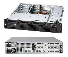 Supermicro CSE-825MTQ-R700UB, mini2U UIO, 3sATA/SAS, slimDVD, UIO, černé