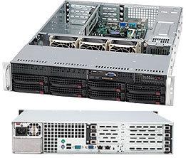 Supermicro CSE-825TQ-560UV, 2U, chassis 8x HS SAS/SATA,UIO, 560W, stříbrný