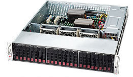 Supermicro CSE-826E16-R1200LP 2U eATX13,12sATA/SAS2,(SAS2 exp.),noCD,rPS (GOLD 80+),7LP,černý
