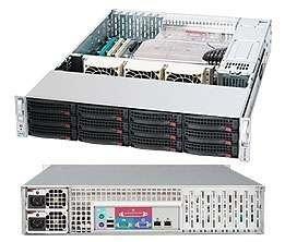 Supermicro CSE-826E26-R1200LP 2U eATX13,12SAS2,(dual SAS2 exp.),noCD,rPS (GOLD 80+),7LP, black