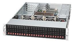 Supermicro CSE-826E26-R1200UB, 2U, UIO,12SAS2,(dual SAS2 exp.),noCD,rPS (GOLD 80+),černé