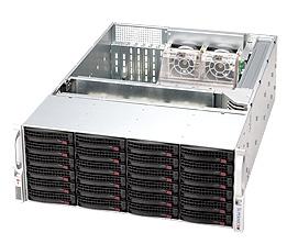 Supermicro CSE-846A-R1200B, 4U eATX, sATA/SAS, SlimCD, 1200W, černý