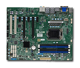 SUPERMICRO MB 1xLGA1150, iC226,DDR3, 8xSATA3, (2x PCI-E 3.0 x16,3x PCI-E 2.0,2x PCI), USB3.0, IPMI