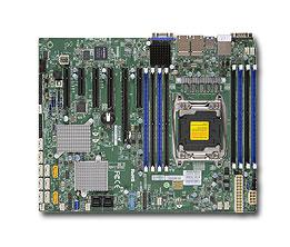 SUPERMICRO MB 1xLGA2011-3, iC612 8x DDR4 ECC, 10xSATA3/8xSAS3,sw LSI 3008, 10 xSATA3,(PCI-E 3.0/4(x8)PCI-E 2.0/1,1(x2,x4),4x LAN,