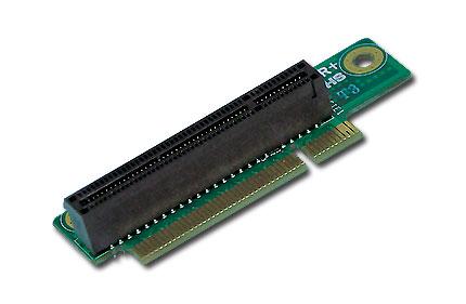 Supermicro RSC-R1UU-E8R+, 1x PCI-E (x8) Slot - RIGHT SIDE, 1U Riser Card