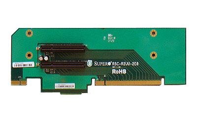Supermicro RSC-R2UU-2E8, 2U UIO Riser to 2 x PCI-E 8x Slot