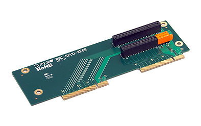 Supermicro RSC-R2UU-2E8R, 2U UIO Riser to 2x PCIE-x8 slot, pravý