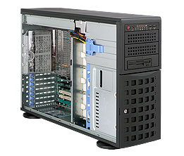 SUPERMICRO Tower/4U 8x HS SAS/SATA, 920W