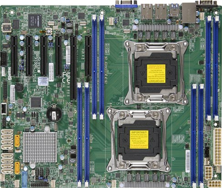 X10DRL-i 2S-R3,PCI-E16(g3)3PCI-E8,2GbE,10sATA3,8DDR4-2133,IPMI